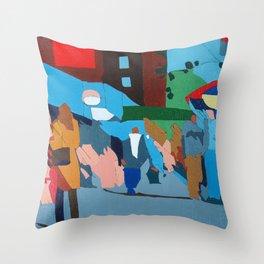 Thrift Store Throw Pillow