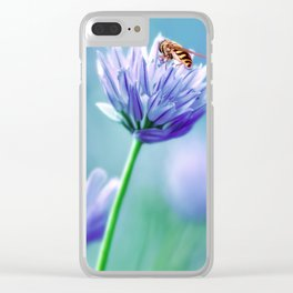 Hoverfly 48 Clear iPhone Case