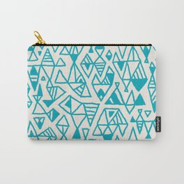 Abstract geometric pattern I Carry-All Pouch