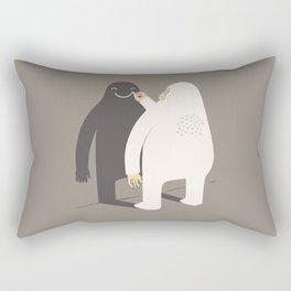 Smile my shadow Rectangular Pillow