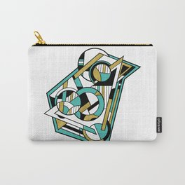 Partridge - Geometric Abstract Digital Design Carry-All Pouch