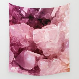 Crystal Rose Wall Tapestry