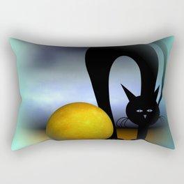 mooncat's property Rectangular Pillow