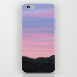 Pink and Blue iPhone Skin
