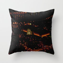 Chicago's Field Museum: A Bird's Eye View (Chicago Architecture Collection) Throw Pillow