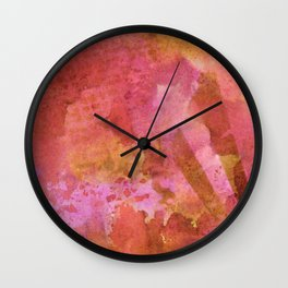 Abstract No. 252 Wall Clock