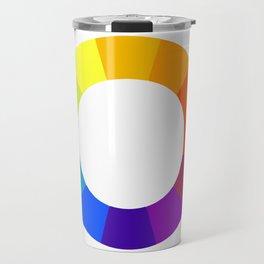 Pantone color wheel Travel Mug