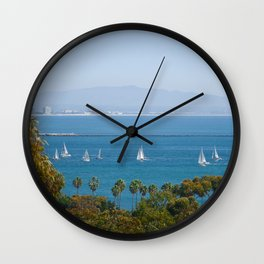 San Deigo Sailing Wall Clock