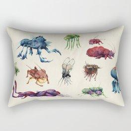 Iridescent Bugs - Set A Rectangular Pillow