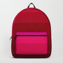 Pink and Red Stripes Backpack