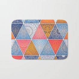 Pattern Mandala Losange Bath Mat