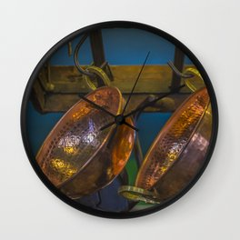 Old Pans Wall Clock