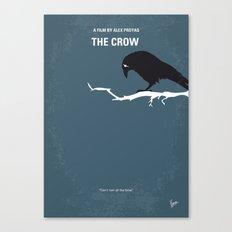 No488 My The Crow minimal movie poster Canvas Print