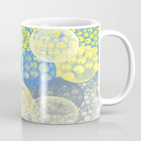 bubble Mugs featuring Bubble by LoRo  Art & Pictures