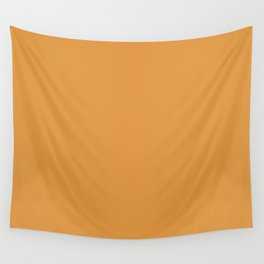color butterscotch Wall Tapestry