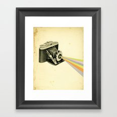 It's a Colourful World Framed Art Print