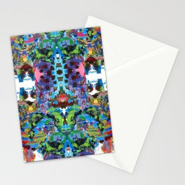 Cherokee Death Mask Stationery Cards