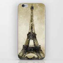 Paris Flea Market iPhone Skin