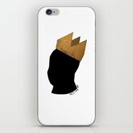 Crowned Head Tee (KNG) iPhone Skin