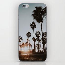 palm trees vi / venice beach, california iPhone Skin