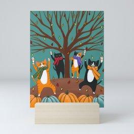 Celebration of Autumn 2020 Mini Art Print