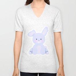 Bunny in country Unisex V-Neck