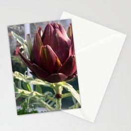 Artichoke in Bloom Stationery Cards