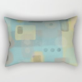 Some of this and that - Abstract Digital Art Rectangular Pillow
