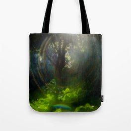 Rainbow Flare (Magic Garden Series) Tote Bag
