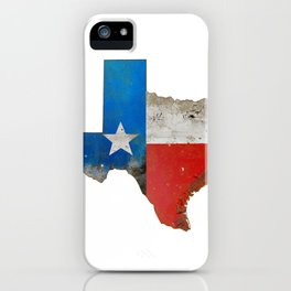 Rustic Texas Sign iPhone Case