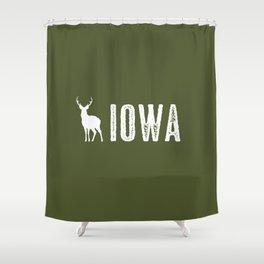 Deer: Iowa Shower Curtain