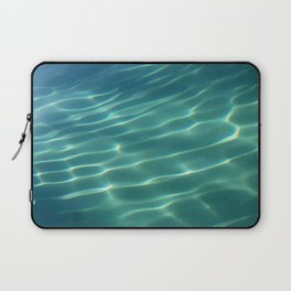 Water reflection in pool - minimalist photography Laptop Sleeve