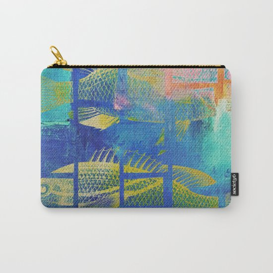 Fish Under Strong Radiation 4 Carry-All Pouch