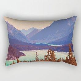 Chilkoot Trail National Historic Site Rectangular Pillow