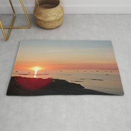 Kayak and the Sunset Rug