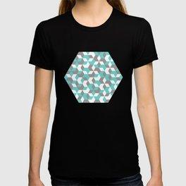 Hexagon(blue) #1 T-shirt