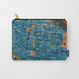 Odessa old map Carry-All Pouch