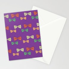 Hipster Bow Tie  Stationery Cards