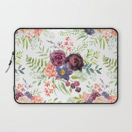 Burgundy bouquets Laptop Sleeve