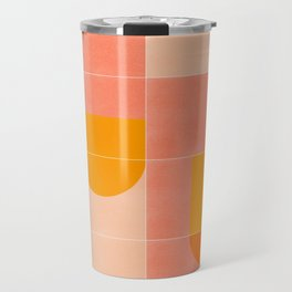 Retro Tiles 03 #society6 #pattern Travel Mug