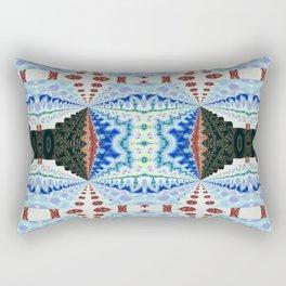 Newer Beginnings Mandala 11 Rectangular Pillow