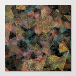 Triangle chaos Autumn Canvas Print