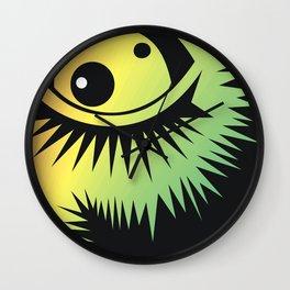 CVAn0046 Fussy Monster Eye Watching You Wall Clock