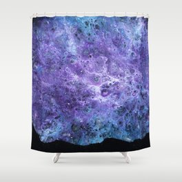 Dust of the Stars Shower Curtain