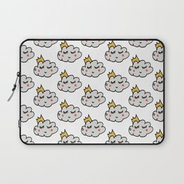 April showers king cloud White #nursery Laptop Sleeve