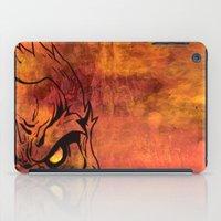 sasquatch iPad Cases featuring Sasquatch by Laurelle Armet