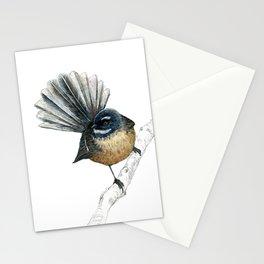Mr Pīwakawaka, New Zealand native bird fantail Stationery Cards