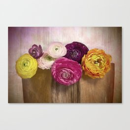 Poetry of spring Canvas Print