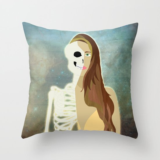 Born To Die Throw Pillow