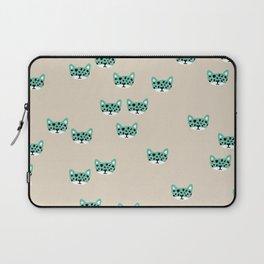 Little Wild Cats Wanderlust leopard baby Laptop Sleeve